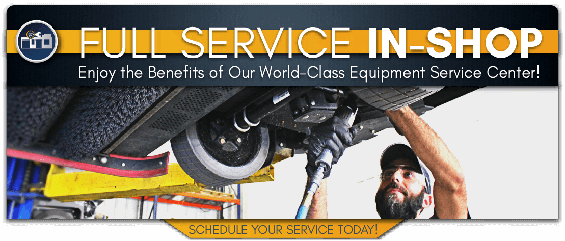 In-Shop Cleaning Equipment Repair Service
