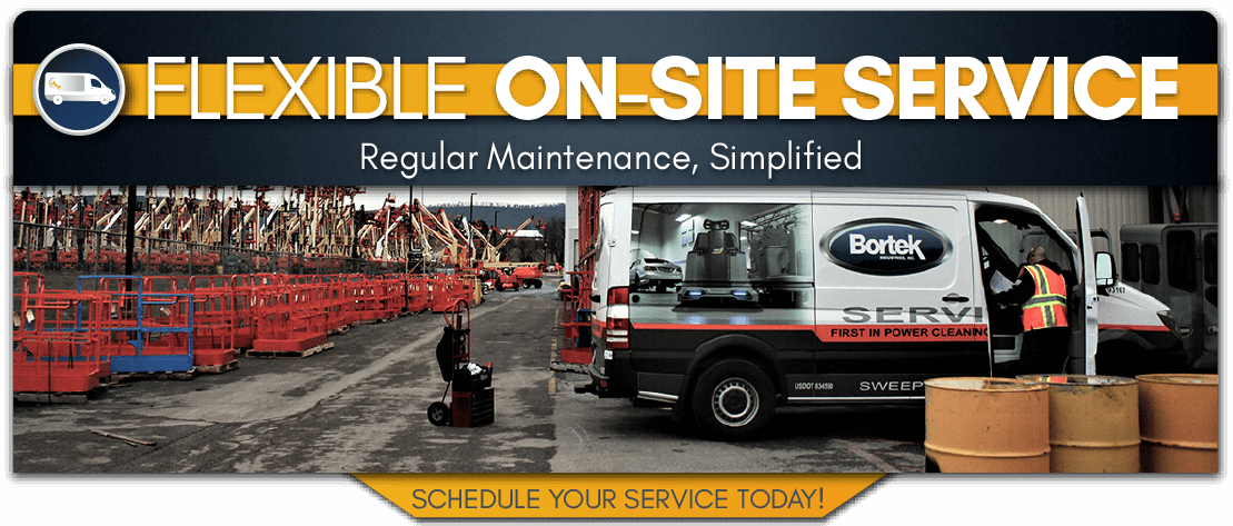 On-Site Cleaning Equipment Repair Service