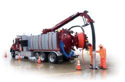 Aquatech B-152 Vac Jet Sewer Cleaning Vehicle