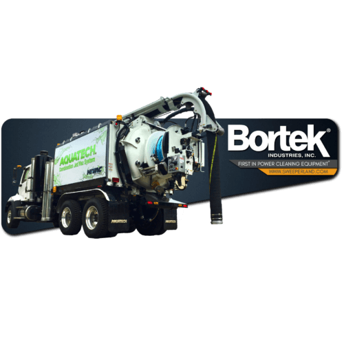 Aquatech Jet/Vac Combination Sewer Cleaning Truck