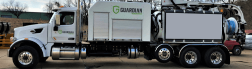 Aquatech Guardian Combination Jet-Vac Sewer Cleaning Vehicle