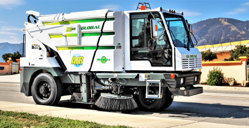 Global R3Air Regenerative Street Sweeper