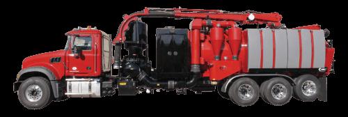 X-Vac X-15 Hydro Excavator Truck