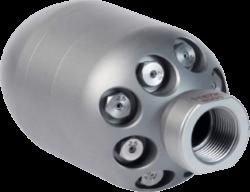 Combinator 3D Sewer Jet Nozzle