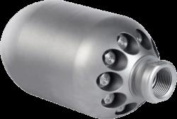 Rocket Large 3D Sewer Jet Nozzle