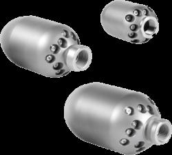 Tri-Jet 3D Sewer Jet Nozzle