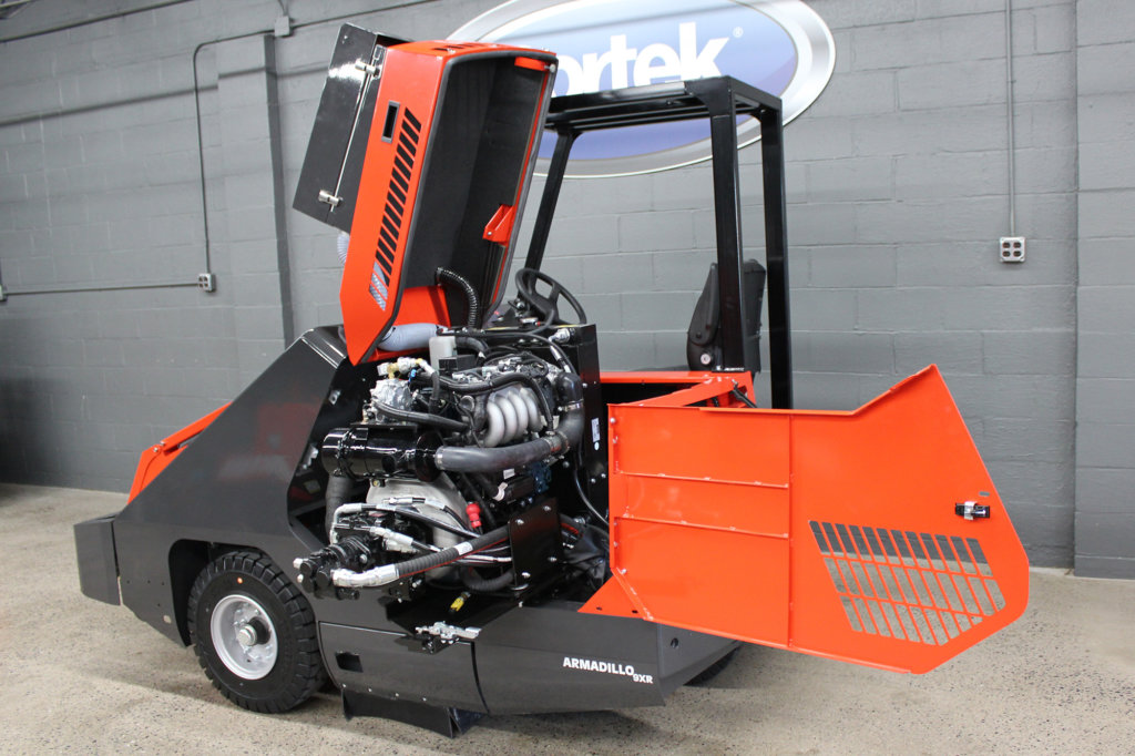 PowerBoss 9XR PowerSwing Engine Access