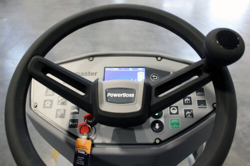 PowerBoss Scrubmaster Control Panel