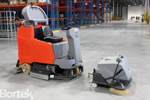PowerBoss Scrubmaster Optional Pre-Sweep Unit