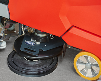 PowerBoss ScrubMaster B260 R Scrubber Sweeper- WM- Copyright Bortek Industries Inc