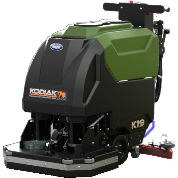 Kodiak K19 Floor Scrubber- Disc Pad Cylindrical- Bortek Industries Inc