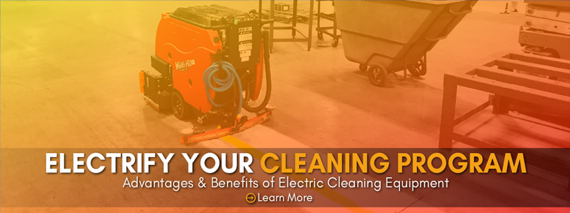 Benefits of Electric Cleaning Equipment