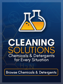 Shop Cleaning Chemicals and Detergents