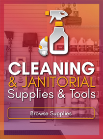 Shop Facility and Janitorial Cleaning Supplies