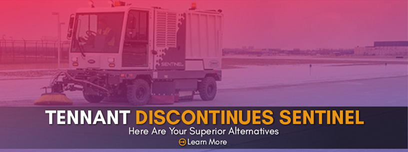Tennant Co. Discontinues Sentinel Street Sweepers. Here are better alternatives!
